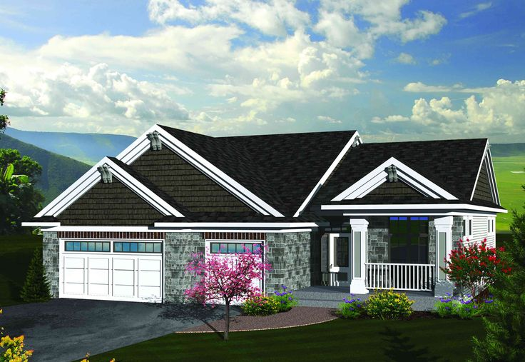 Top 25 ideas about craftsman ranch on pinterest house for Best craftsman ranch house plans