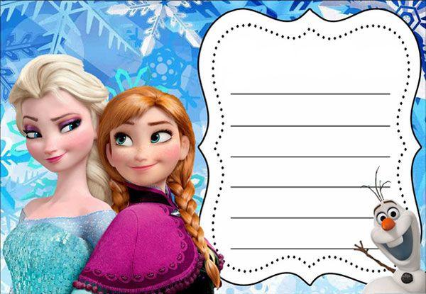 Invito Compleanno Frozen Sharon