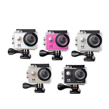 EKEN H9 WiFi Sport Action Camera DV Car DVR SPCA6350 4K 25fps 1080p 60fps 720P 120fps New Version Sale - Banggood.com