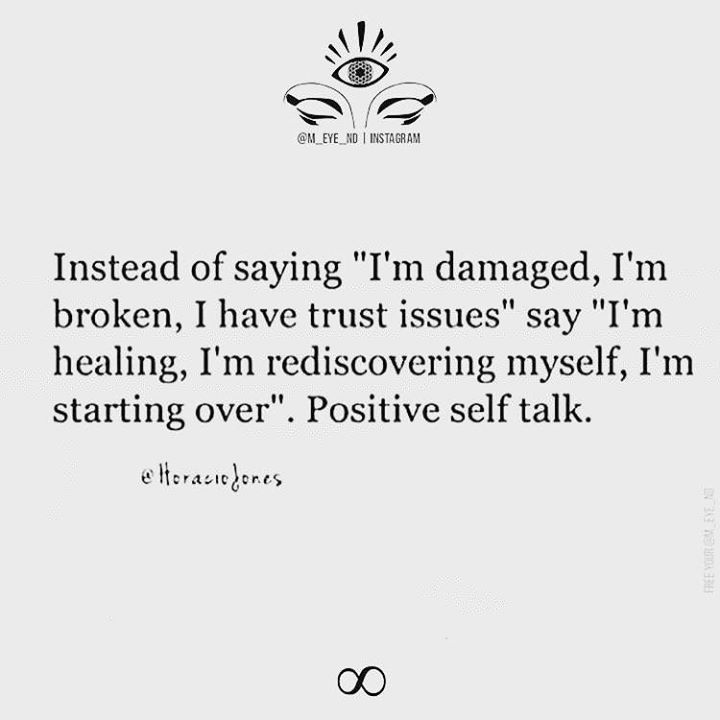 Positive thinking/Self talk makes all the difference.....I post this to remind myself on my dark and lonely days to not forget these things that have helped me in the past....