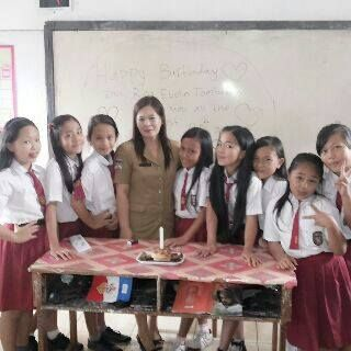 bithday myteacher RINA.EVELIN.TOMBOKAN