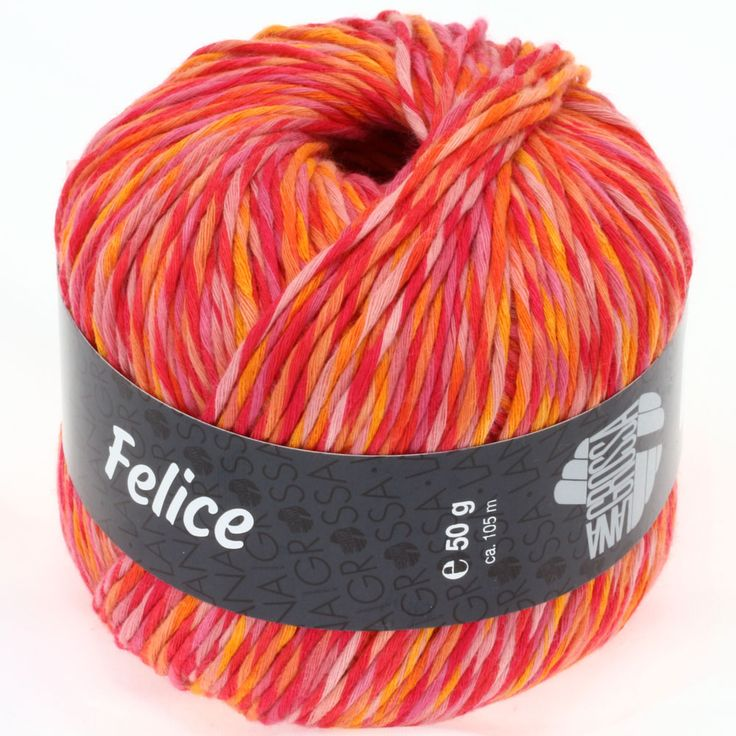 FELICE 07-orange / red / pink / mandarin