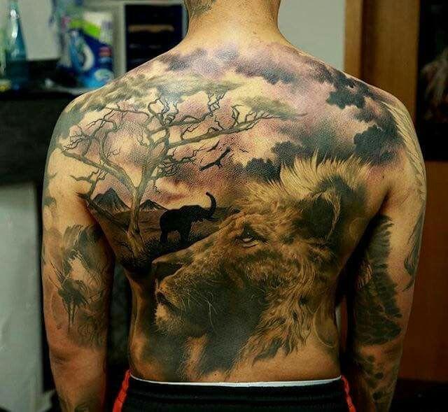 Tattoo by Marcel Daatz.
