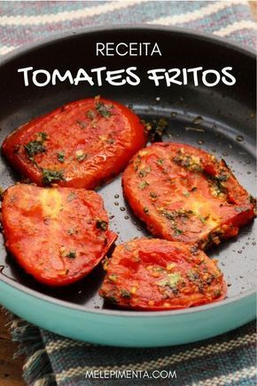 A receita desses tomates fritos vem do livro Jerusalém Sabores e Receitas. Ela é feita com a mais pura simplicidade, mas seu sabor é especial, é só sevir com pães e azeite. É uma deliciosa entrada!