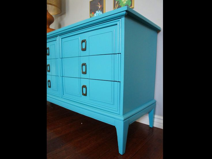 Unpainted Furniture Modern Blue interior ideas