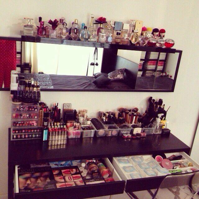 20 idées pour organiser son maquillage