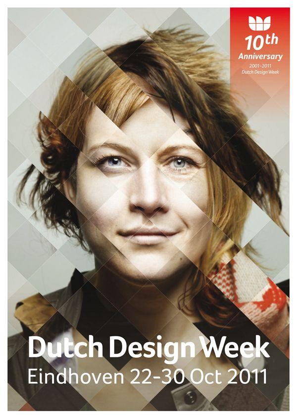 Dutch Design Week 2011 Campagne by Paul Verhagen, via Behance