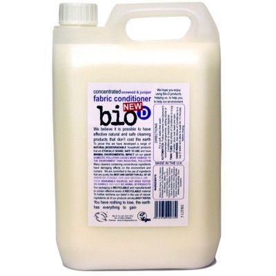 Bio-D Οικολογικό Βιοδιασπώμενο Μαλακτικό Ρούχων με Άγριο Κυπαρίσσι και Φύκια 5LT - Sunnyside