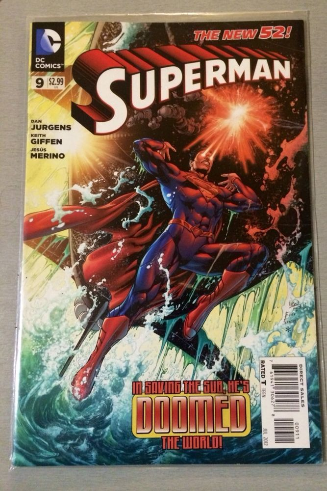 DC The New 52 - Superman - Issue # 9 - 1st Print