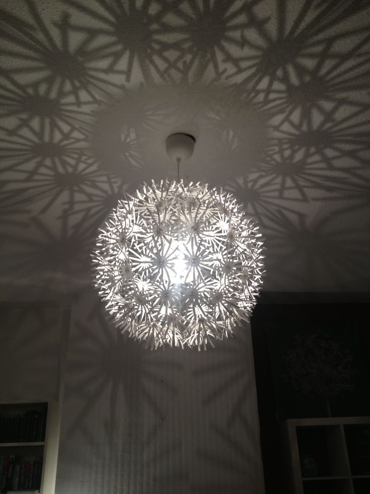 IKEA Ceiling Light With Lovely Shadows