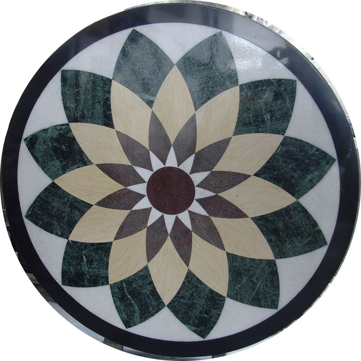 ExoTiles - SNV333 Marble Medallion Floor Tiles, Ask for a quote (http://www.exotiles.com.au/snv333-marble-medallion-floor-tiles/)