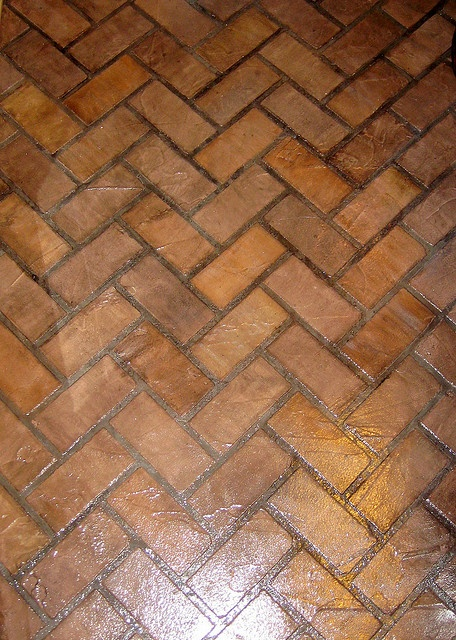Faux Brick Flooring : Best images about for the home on pinterest antiques
