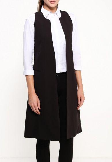 Жилет You&You выполнен из текстиля. Модель удлиненного кроя с высоким разрезом на спинке. Детали: без застежки, два боковых кармана, гладкая текстильная подкладка.