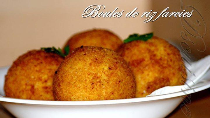 Arancini boules de riz farcies sp cialit sicilienne - Cuisine sicilienne arancini ...