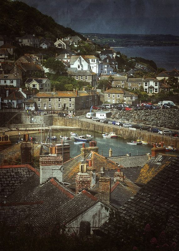 Mousehole, Cornwall by Nigel Hopes