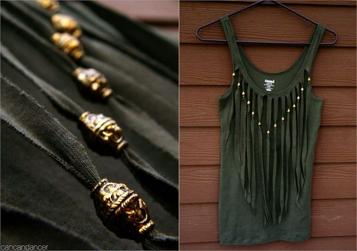 15 Minute Fringe Top | Can Can Dancer