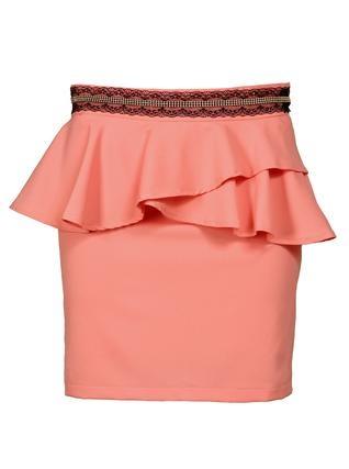 Lososová sukně Pepa Loves Teresa s volánky 1