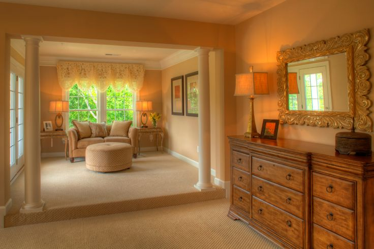 The Remington Place Master Bedroom With Sitting Area Remington Place Home Design Pinterest