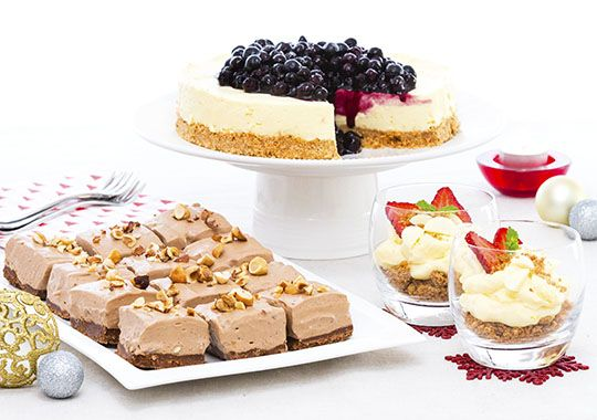 Who doesn't love cheesecake? Here's three ideas for doing something deliciously different with cheesecake this Christmas!