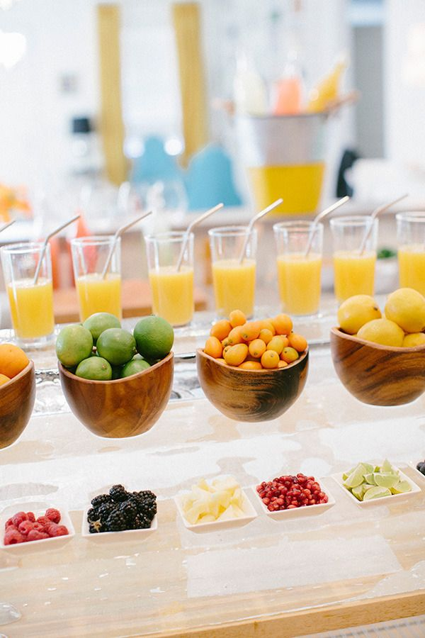 How To Set Up A Smoothie Bar » 118 Best Images About Mimosa Bar On ...