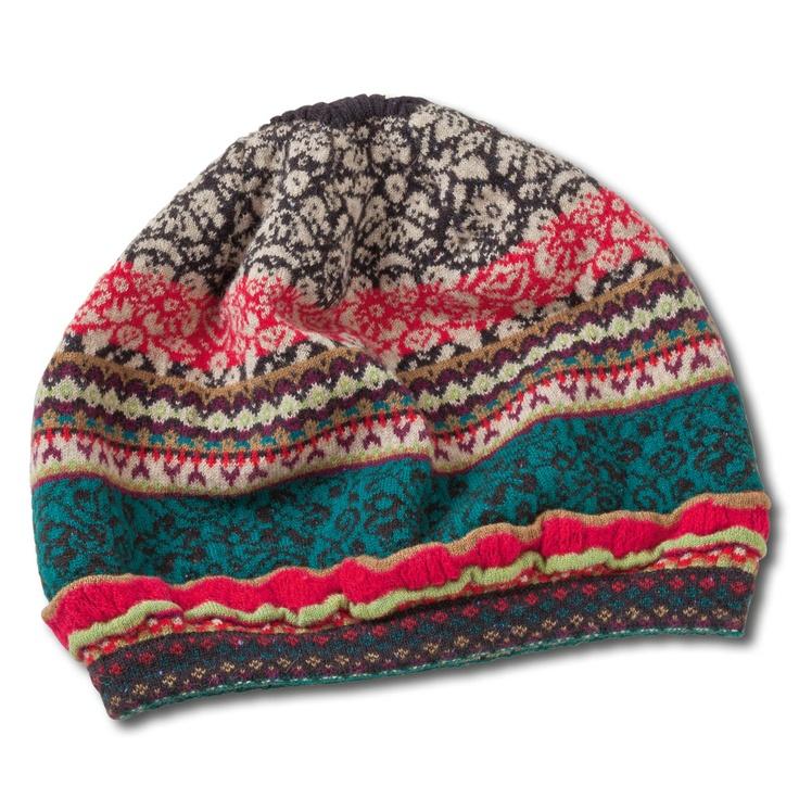 Ivko Multicolour Jacquard Hat. I WANT!!