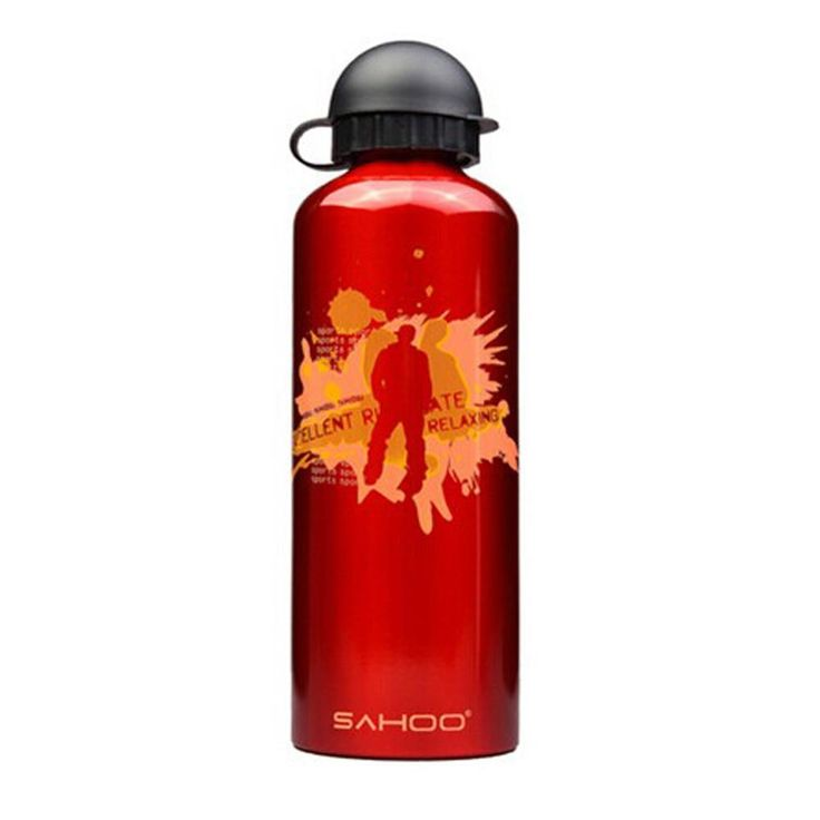 High Quality Aluminium Alloy Water Bottle Bicycle Water Bottle (Red, 0.7L)