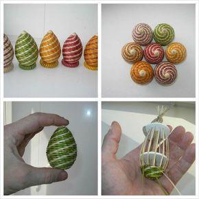 basket weave paper rolls crafts diy - Google Search