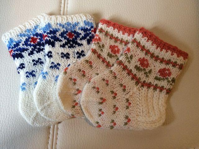 Ravelry: Bumbucis' Socks for infants