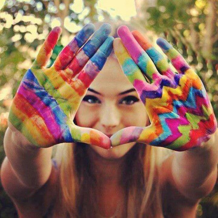 Color spectrum..