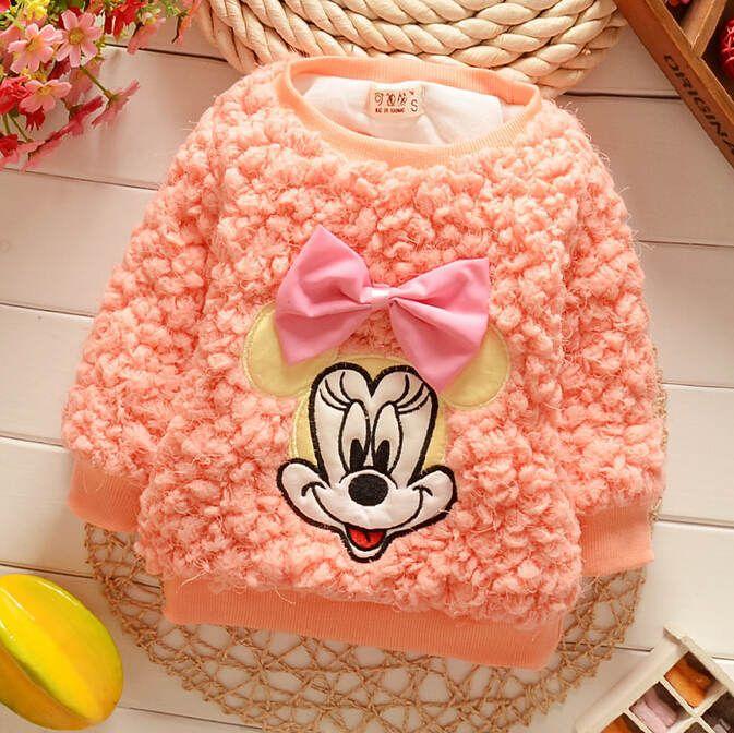 Encontre mais Suéteres Informações sobre meninas 2014 outono/inverno desgaste dos miúdos bonito e popular mickey pulôveres crianças camisola camisola do bebê, de alta qualidade Suéteres de Emily's Store  em Aliexpress.com