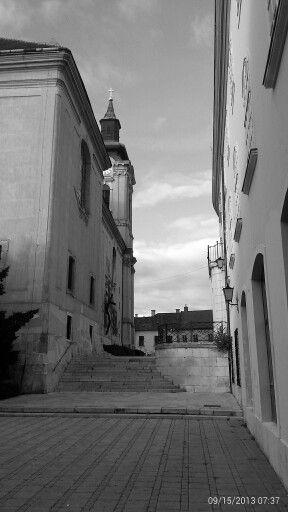 Székesfehérvár, downtown, Hungary