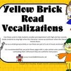 Follow the yellow brick road to singing success with this set of vocalizations.  Sing the characters as they travel to the Emerald City. FUN!