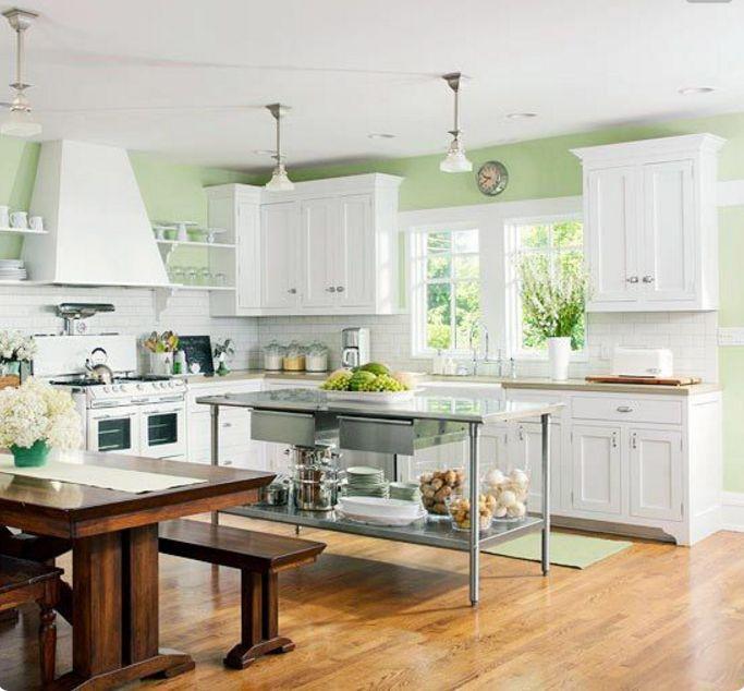 Oltre 25 fantastiche idee su Pareti della cucina verde acqua su ...