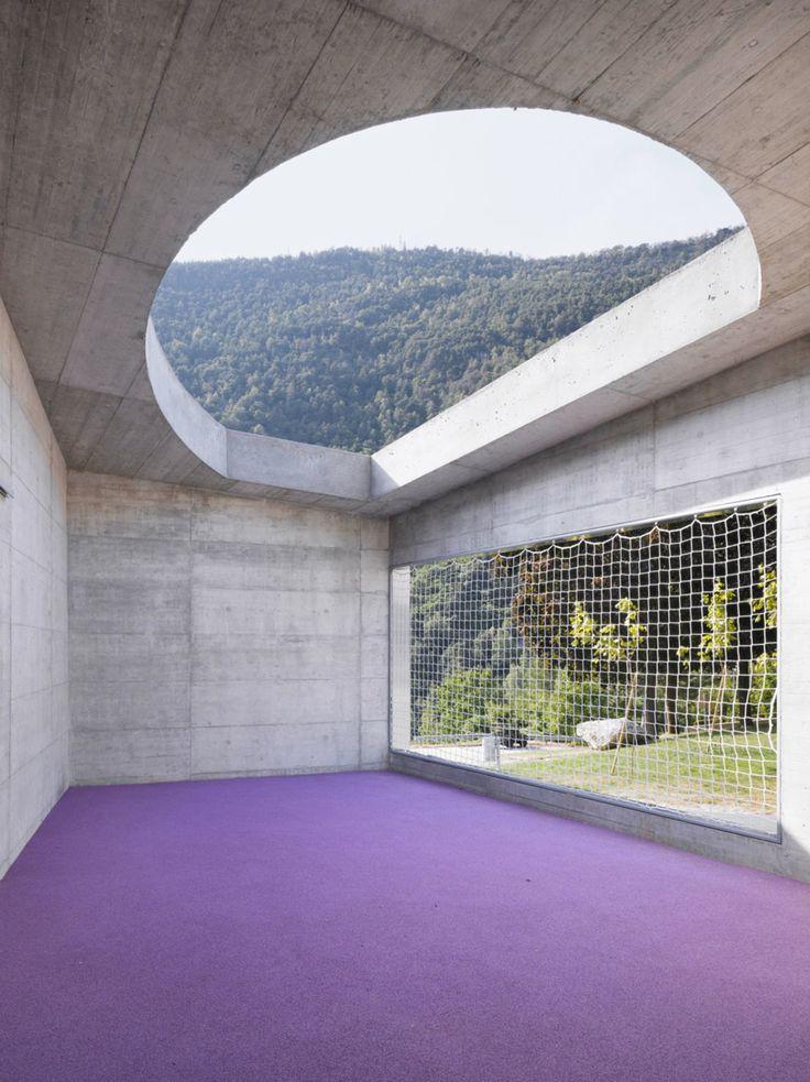 Bonnard Woeffray architectes, Extension Primary School