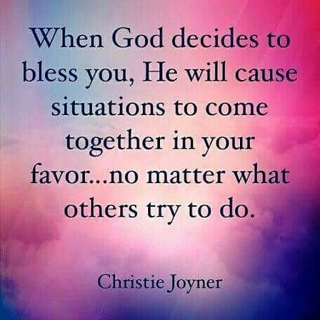 Amen!! God restores what 'satan' steals and destroys! He causes All things to work together for our Good.... giving us a life that's Much better and happier than we could ever dream possible! (Sooo good to see the smiles and to hear the life and laughter in her voice again!....God Is Good!!!)