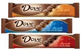 Dove Chocolate Bar Brands