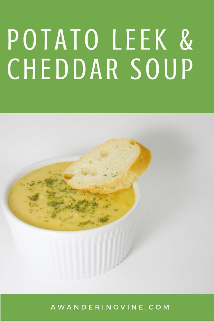 Potato Leek Soup on Pinterest | Leek Soup, Soups and Soup Recipes