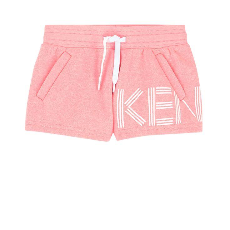 Kenzo Kids - Sportswear logo shorts