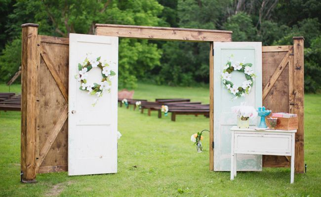 9 Ways To Make Your Outdoor Wedding Feel Intimate