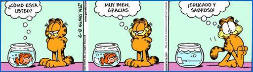 (COMIC) ESTAR / GREETINGS w/ Garfield - Educado y sabroso