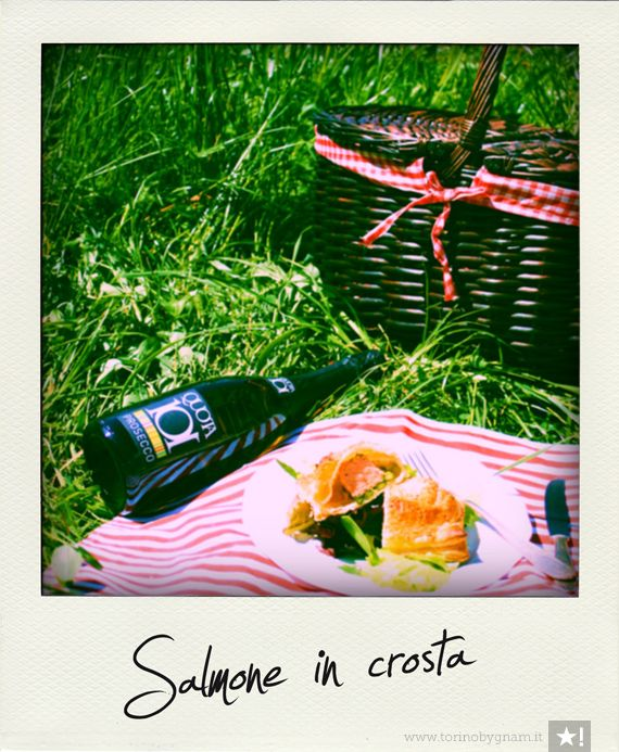 Filetto di Salmone in Crosta by Torino by Gnam http://www.torinobygnam.it/filetti-di-salmone-in-crosta#