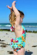 2 Year Swimsuit - LookBook Aqua Lagoon Back