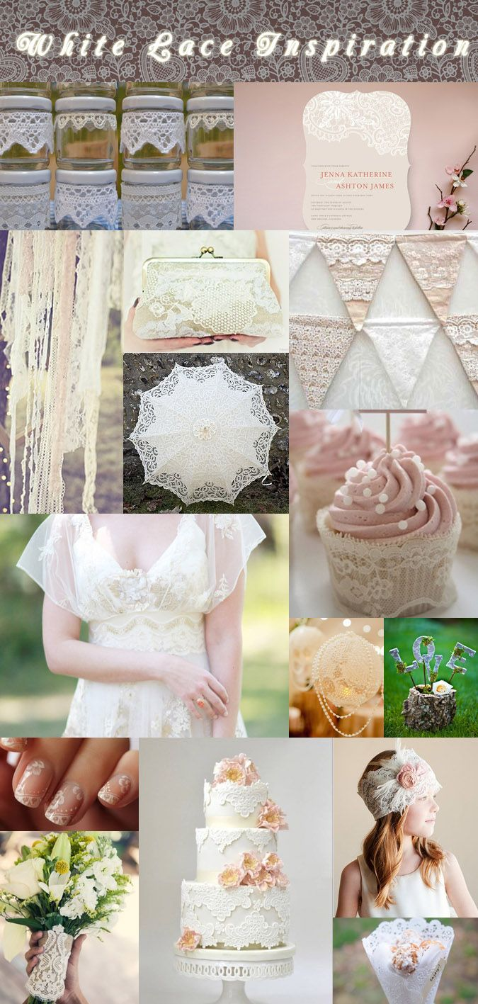 Inspiration - White Lace Inspiration - Weekly Inspiration