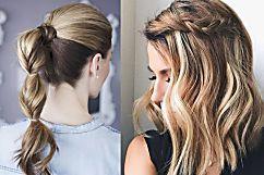 Seis penteados fáceis e rápidos para usar no dia a dia | ESTILO