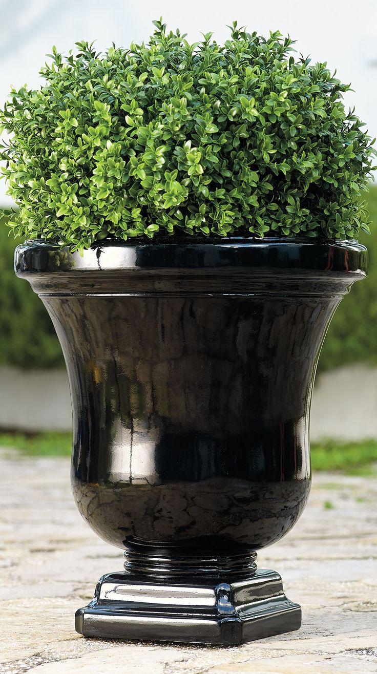 While Clearly Elegant, Our Eileen Urn Has A Quite A Secret: Itu0027s Actually  Made. Garden OasisGarden PotsGarden ...