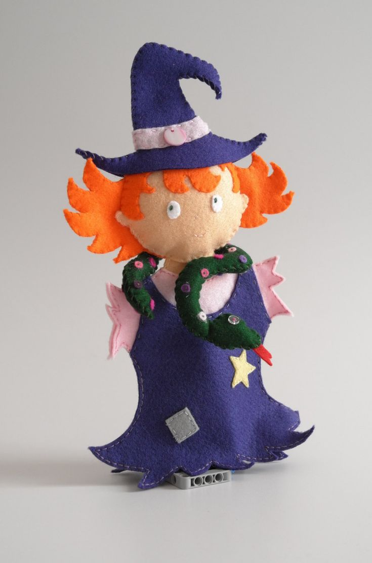 Witch by KinkinPuppets on Etsy
