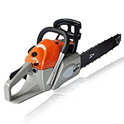 Anfan 62CC 4.2HP Rancher Chainsaw 20-Inch 2 Strokes Gas Powered Chain Saw , Bar Cover and Tool Kit Garden Home Use (US Stock)