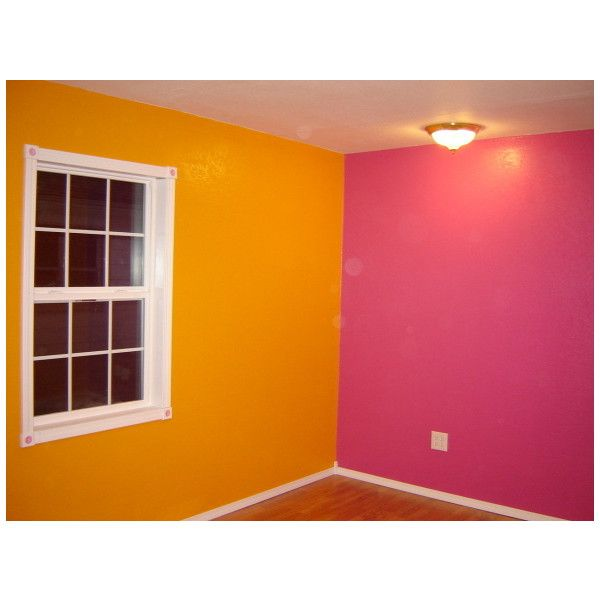 Bright Pink And Orange Bedroom S Room Designs Decorating Ideas Rate My E Found On Polyvore For The Home Pinterest