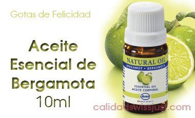 Aceite Esencial de Bergamota 10ml | Calidad Swiss Just