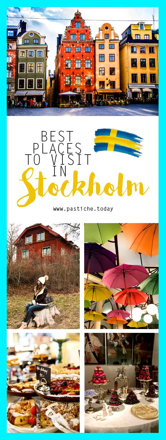 Stockholm Travel Guide for Bloggers. Best Places to Visit in the capital city of Sweden